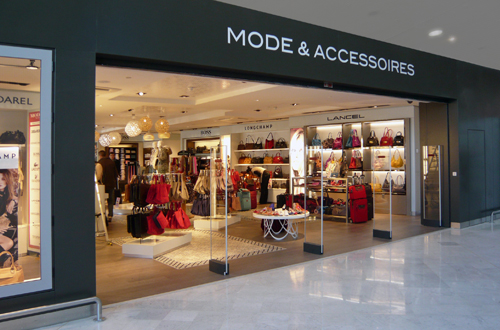 Mode & Accessoires - A realization of DWA Design Wapler Architects Agency Paris