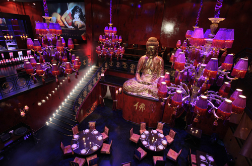 Buddha-Bar Kiev - A realization of DWA Design Wapler Architects Agency Paris